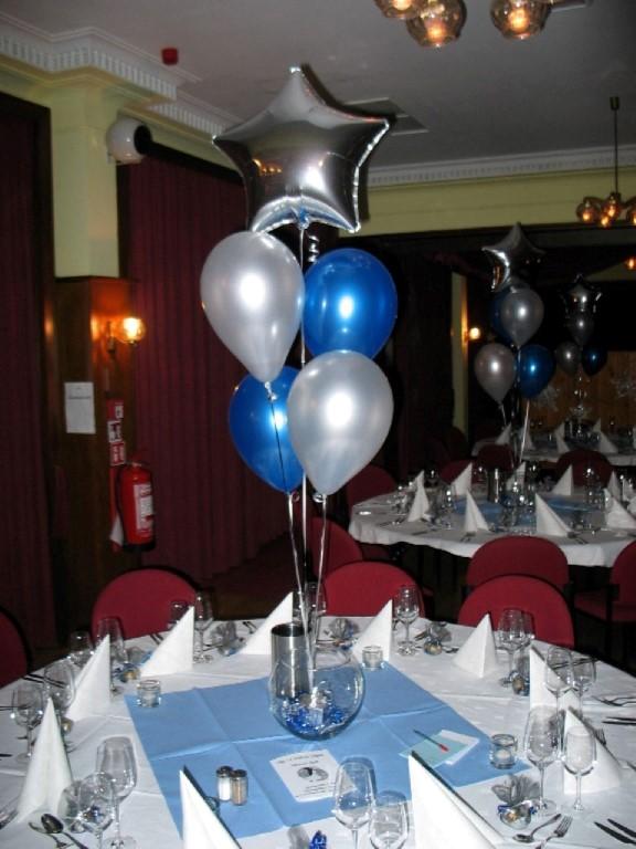 Tafeldecoratie balloonxl ballonnen en ballondecoratie oss for Ballonnen tafels