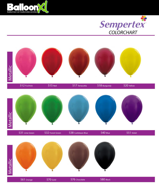 BalloonXL.nl Metallic Pearls
